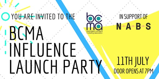 BCMA Influence Launch Party