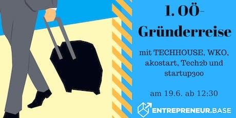 1. OÖ-Gründerreise Tickets