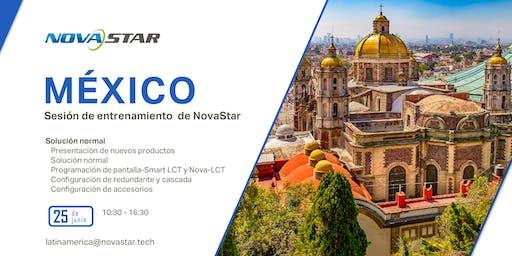 Sesión de entrenamiento de NovaStar - México