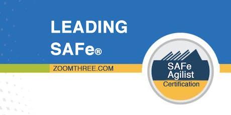 Leading SAFe (SAFe Agilist Certification) - Kuala Lumpur, Malaysia July 2019 tickets