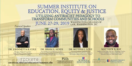 Summer Institute on Education, Equity & Justice (SIEEJ) tickets