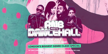 RnB Meets Dancehall Summer Party tickets