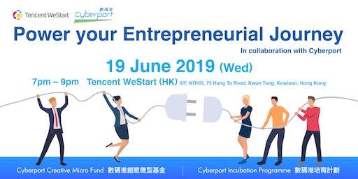 WeStart HK x Cyberport – Power your Entrepreneurial Journey