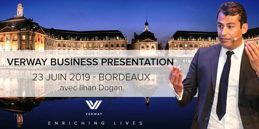 VERWAY BUSINESS PRÄSENTATION - 23.06. - Hilton Garden Inn, FR