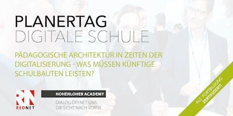 Pädagogische Architektur in Zeiten der Digitalisierung Tickets