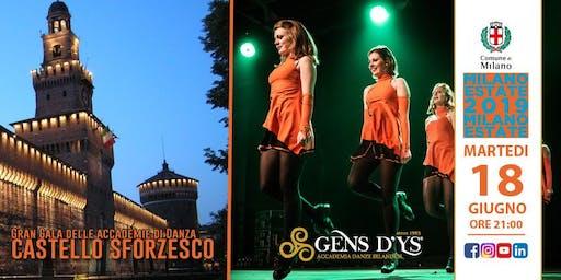 Gran Gala della danza - Castello Sforzesco