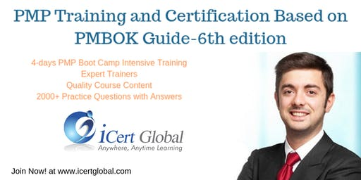 PMP® Exam Prep Training and Certification in Greenville, SC, USA | 4-day Boot Camp Training