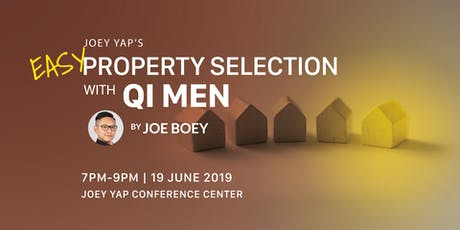 Joey Yap's Easy Property Selection with Qi Men By Joe Boey tickets