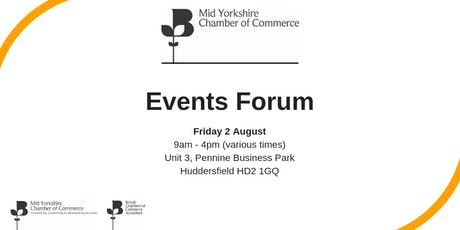 Mid Yorkshire Chamber Events Forum tickets