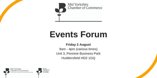 Mid Yorkshire Chamber Events Forum