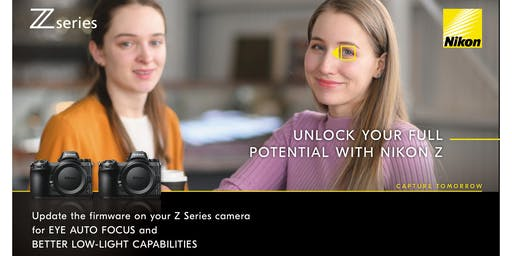 Nikon - Z Series Firmware Update & Snap Bridge Seminar I Greensborough
