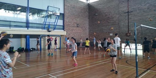 UNSW Volleyball Dig Set Spike Term 2 Course