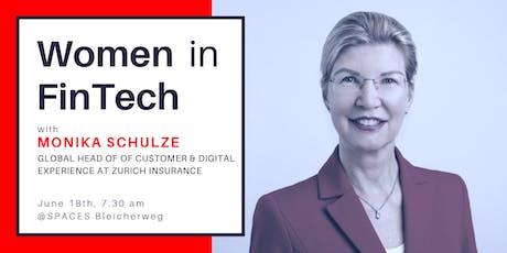 Women In FinTech: breakfast with Monika Schulze tickets