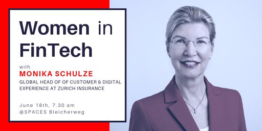 Women In FinTech: breakfast with Monika Schulze