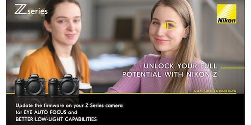 Nikon - Z Series Firmware Update & Snap Bridge Seminar I Frankston