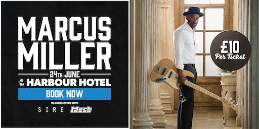 Marcus Miller Masterclass at the Harbour Hotel in Guildford