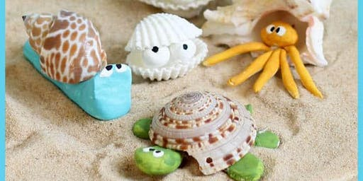 Hot Sparks! Create your own sea creature.