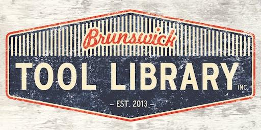 Brunswick Tool Library Volunteer Open Day