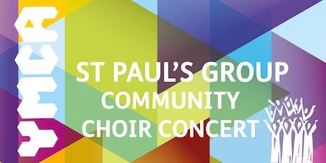 YMCA St Paul's Group Community Choir Concert tickets