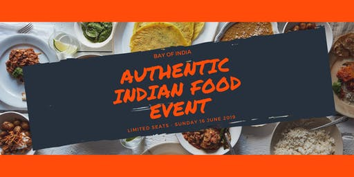 Authentic Indian Food Event!