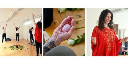 Yoni Egg Initiation: transformative Feminine Embodiment intensive