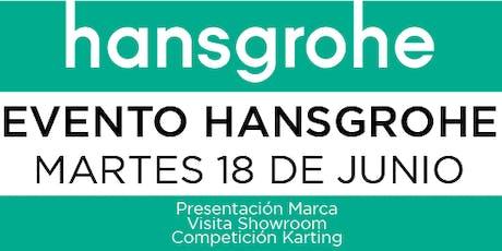 Visita showroom Hansgrohe entradas