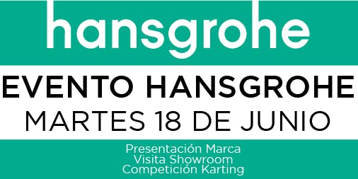 Visita showroom Hansgrohe