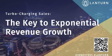 Turbo-Charging Sales:  The Key to Exponential Revenue Growth tickets