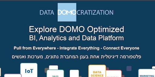DOMO BI, Analytics and Data Cloud Digital Platform