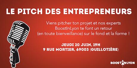 Le Pitch des Entrepreneurs tickets
