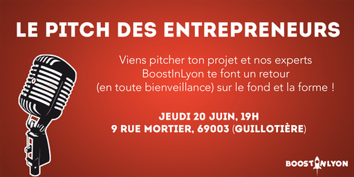 Le Pitch des Entrepreneurs