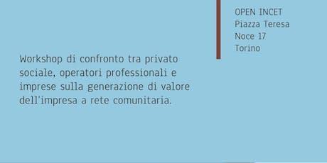 Workshop Impresa a Rete Comunitaria biglietti