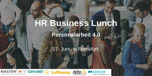 HR-Business-Lunch: Personalarbeit 4.0