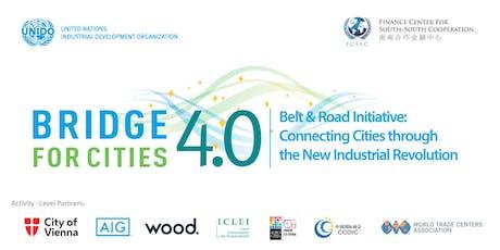 UNIDO's BRIDGE for Cities 4.0  tickets