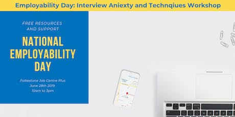 Interview Anxiety and Techniques workshop billets