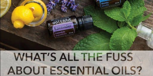 Intro To Essential Oils Whitby AFTERNOON