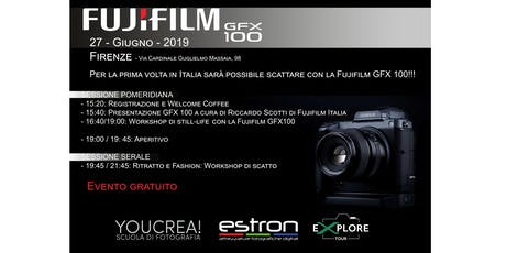 Fujifilm eXplore Tour - Workshop  GFX 100 - Net Records Firenze biglietti