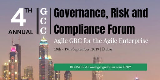 4th GCC Governance Risk and Compliance Forum