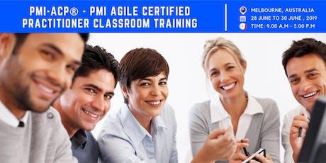 PMI-ACP Training | Melbourne | Australia | June | 2019 tickets