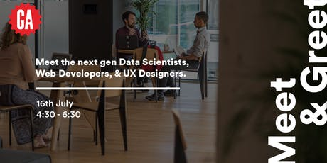 Meet & Greet | Junior Web Developers, Data Scientists & UX Designers tickets