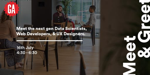 Meet & Greet | Junior Web Developers, Data Scientists & UX Designers