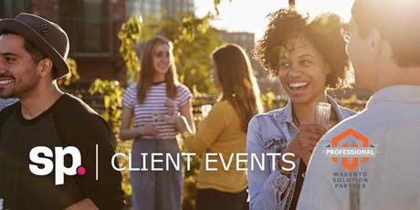 Drinks, eCommerce talks & more... Screen Pages 2019 Client Event tickets