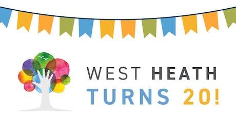 West Heath School 20th Anniversary Celebrations tickets