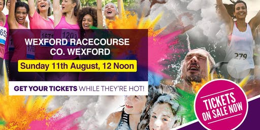 Bubbly Colour Run - Wexford Racecourse