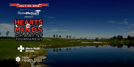 Hearts vs Minds Charity Golf Tournament 2019 tickets