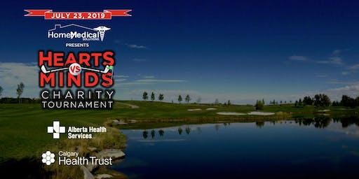 Hearts vs Minds Charity Golf Tournament 2019