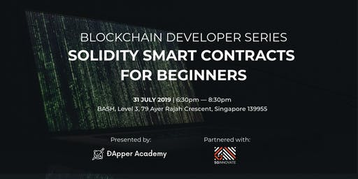 Solidity Smart Contracts for Beginners