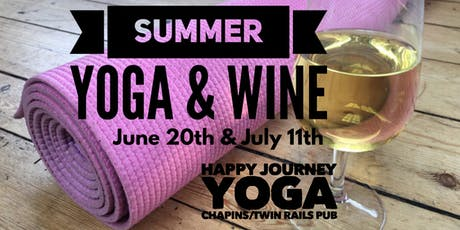 Summer Yoga and Wine July 11th tickets