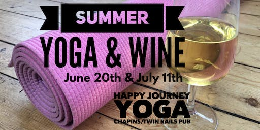 Summer Yoga and Wine July 11th