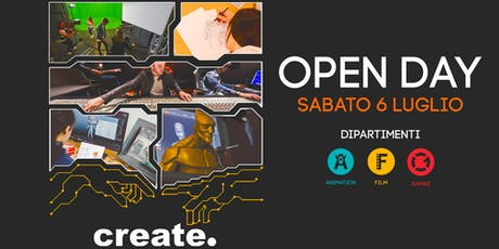 Open Day corsi Video, Games e Animation biglietti